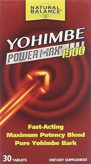 Natural Balance Yohimbe Power Max 1500 - 30 Tablets