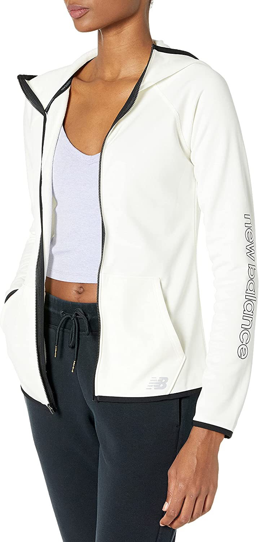 New Balance Women's Core Fleece Full Zip Hoodie