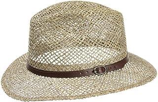 Lipodo Farmer Cappello di Paglia da Uomo - Cappello da Sole in 100% Paglia - Cappello da Spiaggia nelle Taglie M, L, XL - ...