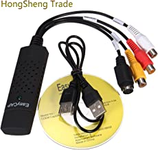 Generic New USB 2.0 Easycap Dc60 Tv Dvd Vhs Video Adapter Capture Card Audio Av Capture Support Win Xp/ Win 7/ Vista 32