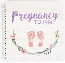 My 9 Month Journey Pregnancy Journal and Baby Memory Book with Stickers - Baby Scrapbook and Photo Album - Perfect Pregnancy Gifts for First Time Moms - Picture and Milestone Books for Toddlers