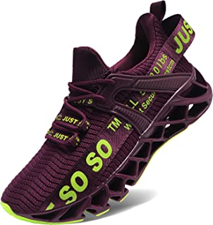 Womens Walking Running Shoes Athletic Blade Non Slip Tennis Fashion Sneakers