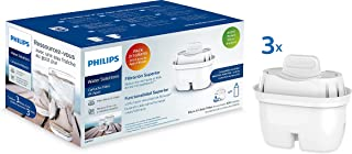 Filtre à eau Micro X Clean Philips AWP211. Cartouches pour filtration d'eau. Compatible avec les carafes Philips et les pr...