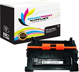 Smart Print Supplies Compatible 64A CC364A MICR Black Toner Cartridge Replacement for HP Laserjet P4014N P4015N P4015X P4515N P4515X Printers (10,000 Pages)