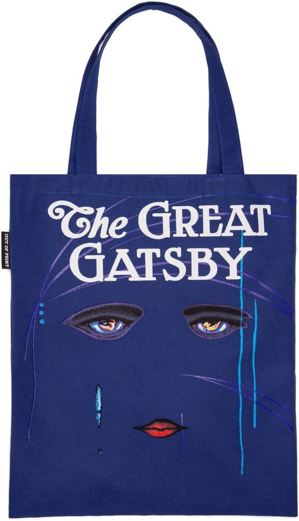 Out of Print The Great Gatsby 15 Bag Washington 5 popular Mall X 17 Inches Tote