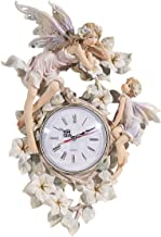 "18""H Enchanted Fairy Wall Clock"