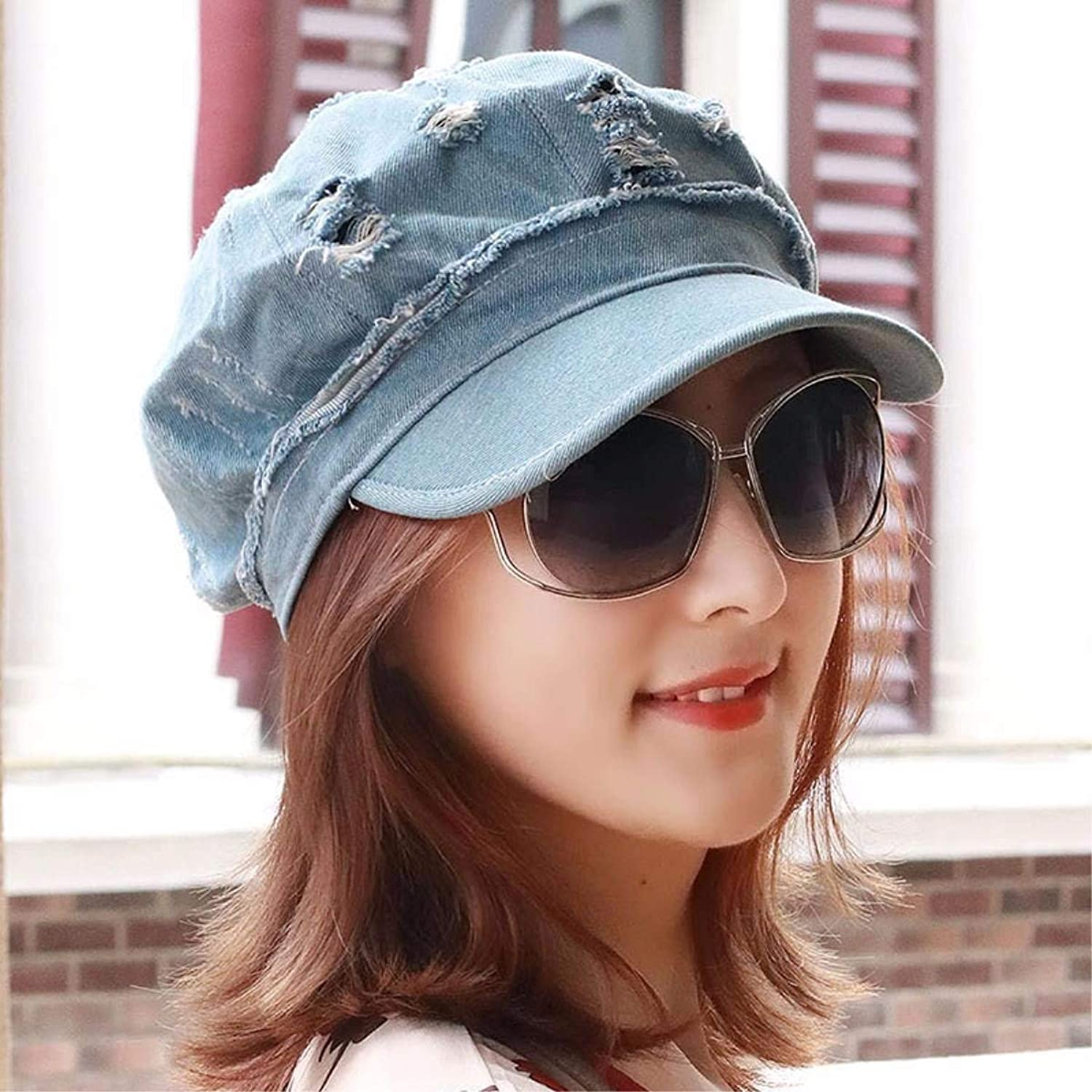 Dingkun The girl like old newspaper' octagonal cap visor cap Fashion Cap beret cowboy hats common between men and women