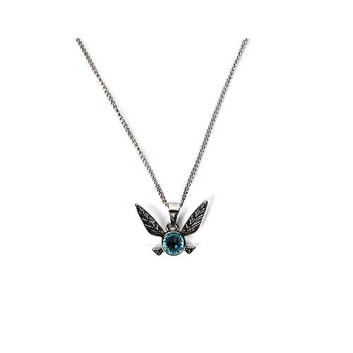 132851566c60 Bioworld The Legend of Zelda Navi Blue Gem Pendant Necklace