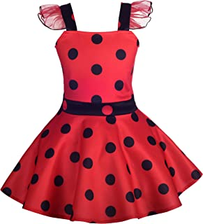 Dressy Daisy Girls Ladybug Dress Up Costume Birthday Fancy Dress Casual Outfit