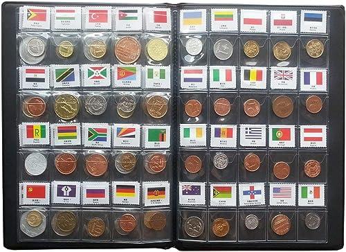 Shangfan 60 l ern münzen sammeln hat sch  Münzalbum für KursmünzenSätze der
