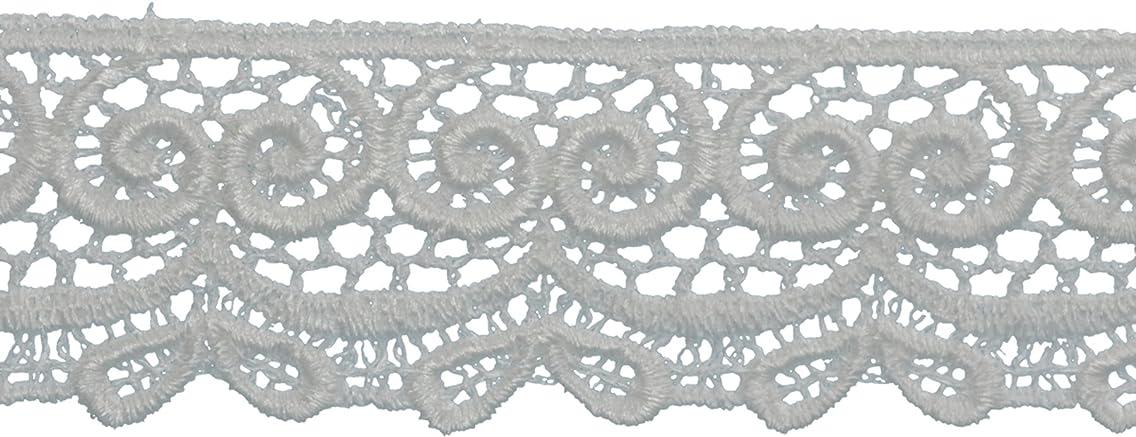 Decorative Trimmings 20533-8-005Y-020 Bow Edge Venice Lace Trim 1