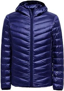 Duck Down Jacket Ultra Light Men 90% Coat Waterproof Down Parkas Mens Collar Outerwear Coat