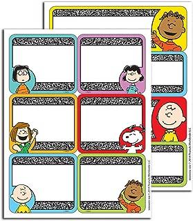 Eureka Peanuts Composition Stickers - Label