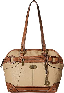 Hutchison Wood Rings Satchel
