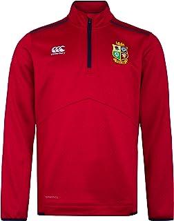 Canterbury of New Zealand British and Irish Lions Rugby Men's Thermoreg Quarter Zip Fleece Top