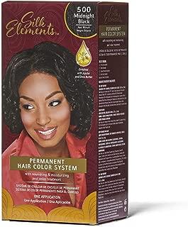 Silk Elements Midnight Black Permanent Hair Color Midnight Black