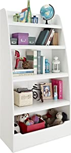 Ameriwood Home Hazel Kids' 4 Shelf Bookcase, White