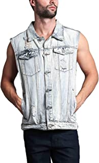 Victorious Rocker Denim Jean Vest Jacket
