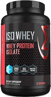 MFIT SUPPS - ISO WHEY Protein Powder - Vanilla Flavor