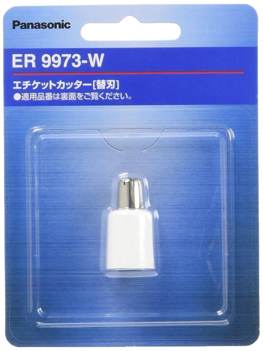 主婦飽和するテロリストパナソニック 替刃 エチケットカッター用 ER9973-W