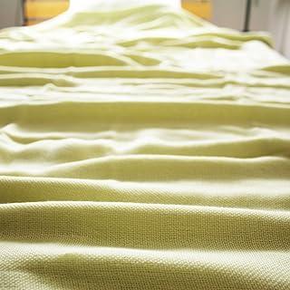ガーゼケット コットン100% シングルサイズ140×190cm 天然素材 綿100% (ピスタチオグリーン)