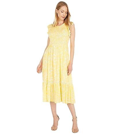 LOST + WANDER Daisy Field Midi Dress