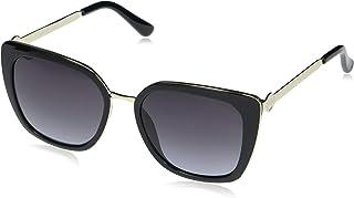 Guess Ladies Gold Tone Square Sunglasses GF6124 32B 54
