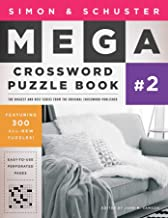 Simon & Schuster Mega Crossword Puzzle Book #2 (2) (S&S Mega Crossword Puzzles)
