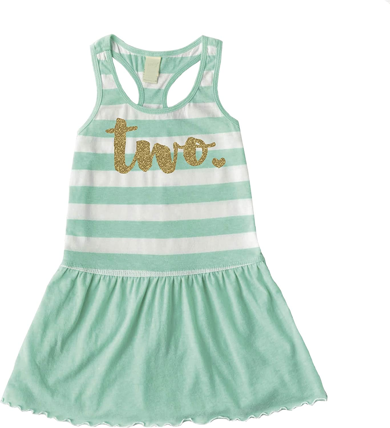 Bump and Beyond Designs Second Birthday Outfit Girl Two Year Old 2nd Birthday Summer Dress