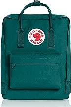 Fjallravens- Kanken Classic backpacks for Everyday,Outdoor Bags,Sweden Laptop,Greenland Zip wallet,Raven,Re-Kanken ,mini,Raven (Ocean Green)