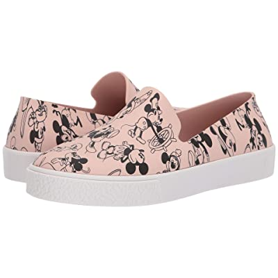 Melissa Shoes Ground + Mickey (Pink/White) Women