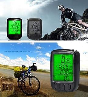 Digital LCD Cycle Cycling Bike Computer Bicycle Speedometer Accessories Velometer Velo Velocimetro Bicicleta Ciclocomputador P15 (