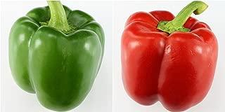Bell Pepper Sweet Capsicum Annuum Mixed Color Blend Seeds 25 PCS
