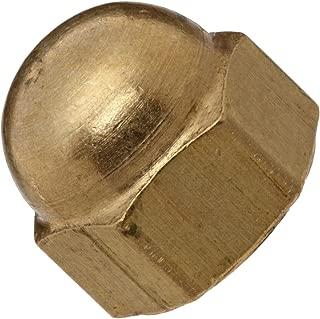 11//32 Height Nylon 6//6 Acorn Nut Off-White USA Made 1//8 Minimum Thread Depth 19//64 Width Across Flats Pack of 100 6-32 Thread Size