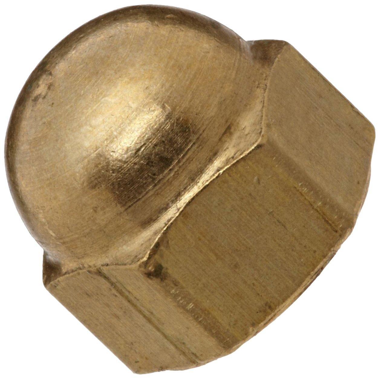 Brass Acorn Nut USA specialty shop Made 8-32 5 16