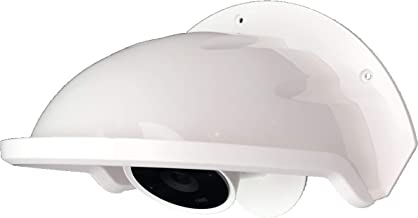 Universal Sun Rain Shade Camera Cover Shield for Nest/Ring/Arlo/Dome/Bullet Outdoor Camera - White