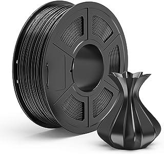 TECBEARS PLA 3Dプリンターフィラメント 1.75mm ブラック 寸法精度 +/- 0.02mm 1kgスプール1パック