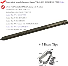 Eaglestar 1PC P580 Replacement S Stylus Pen Pointer Pen for Black Samsung Galaxy Tab A 10.1 2016 SM-P580 P580 P585