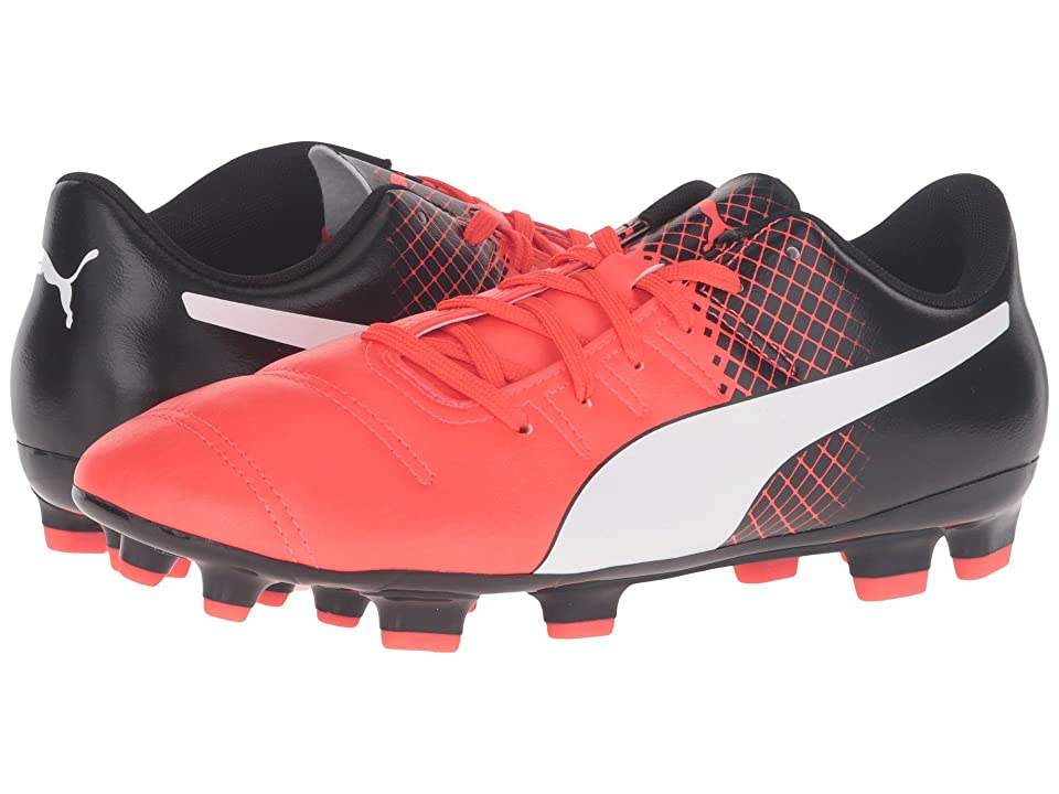 PUMA evoPOWER 4.3 FG (Red Blast/Puma White/Puma Black) Men