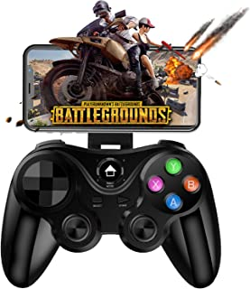 Mobile Gamepad Controller, Megadream Key Mapping Gaming Joysticks Trigger for PUBG/Call of Duty & More Shooting Fighting Racing Game, for 4-6 inch Android iOS Phone - Direct Play