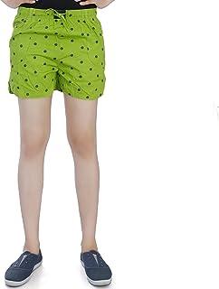 Flamboyant Women's Green Shorts