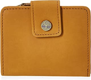 Timberland Women's Leather RFID Small InDexer Wallet Billfold ، القمح (نعوم)