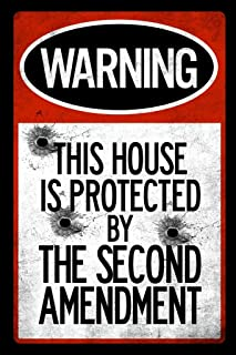 Best this house protected by the second amendment sign Reviews
