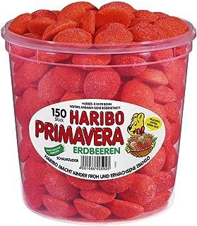 Haribo Primavera Strawberry Pack of 2 x 1.05 kg)