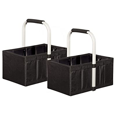 STORAGE MANIAC 2-Pack Carrybag Fabric Picnic To...