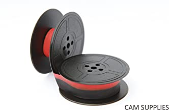 Kores 2248540 Ruban de haute qualit/é en nylon compatible avec Imprimante Anker 13 mm x 10 m Noir//Rouge