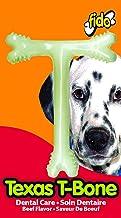 "product image for Fido Texas T-Bone Dental Dog Bone, Beef Flavored, Medium 5-1/2"""