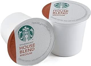 Starbucks House Blend single serve K-Cup pods for Keurig brewers, 96 Count