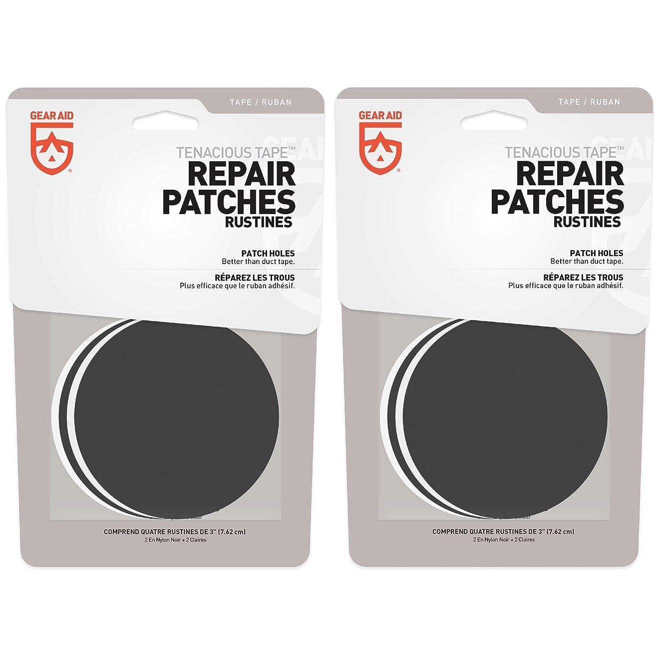 Gear Aid Tenacious Tape Repair Patches Clear & Black 3