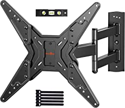 Full Motion TV Wall Mount for Most 23-55 Inch LED LCD Flat & Curved TVs with Swivels, Articulating, Tilt & Extends, Wall M...